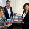 Donație de cărți în limba română la Ismail, Ucraina